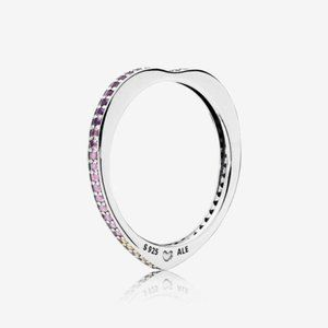 Pandora Multi-Colored Arc of Love Ring